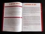 Conception de l'identité visuelle de la «lettre du GRED» pour l'unité de recherche GRED de l'IRD (Institut de Recherche pour le Développement).