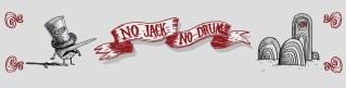 Bandeau pour le site bandcamp de No Jack No Drum.