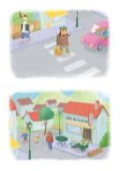 Illustrations pour un projet de livre pour enfants
