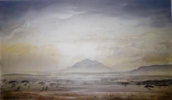 """Samburu Dusk 21x13"""" £1200"""