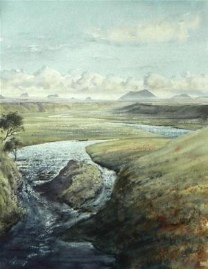 Private beat, river Thurso