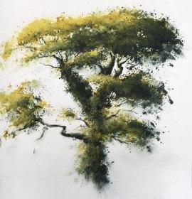 "Oak tree £600 9""x 10"""