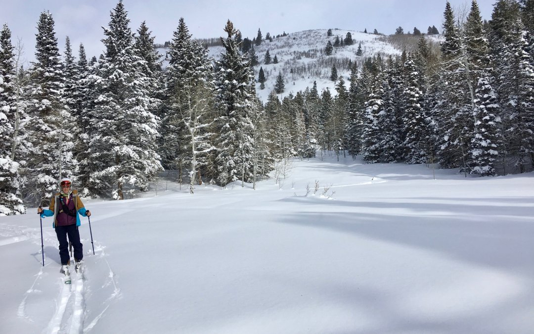 Ski Touring with My Wife