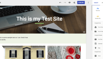 Publish a google sites template jeremy mcbrayer my first impressions of the new google sites pronofoot35fo Gallery