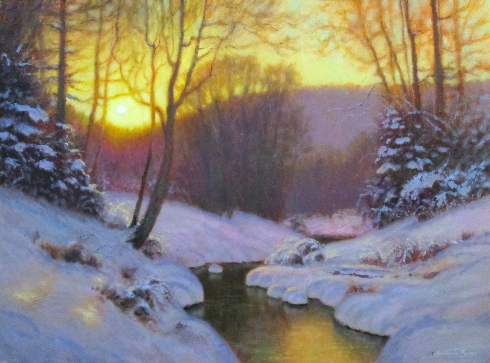 Winters Repose  Jeremy Sams Art