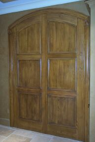 faux woodgrain