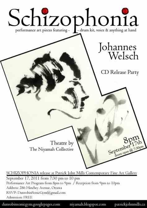 CD Release Party - Johannes Welsch - Schizophonia