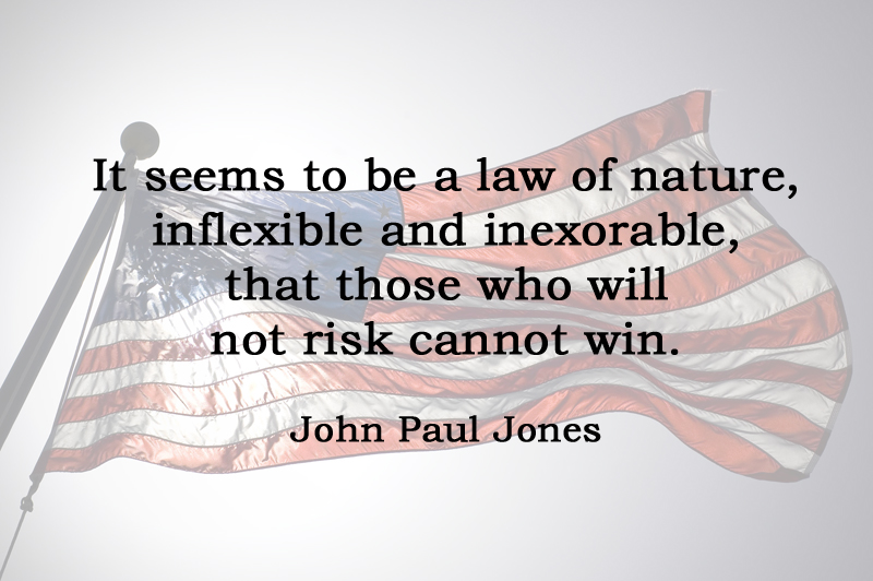 [No.33] John Paul Jones on Risk