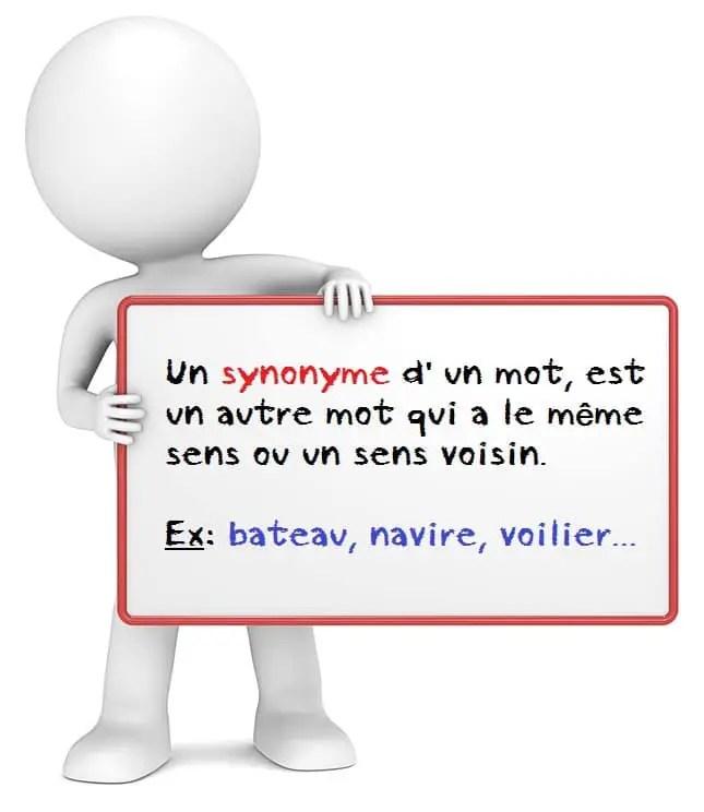 Le synonyme