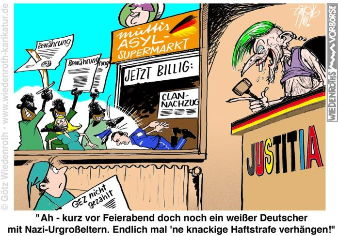 Justitia-ungerecht-nur-deutschen-gegenüber
