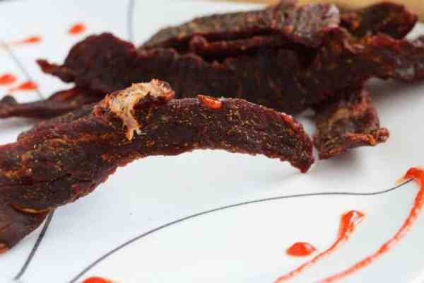 Sweet Heat Sriracha Jerky Finished
