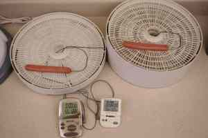 Nesco Dehydrator Heat Test