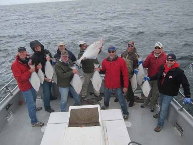 Group with Halibut