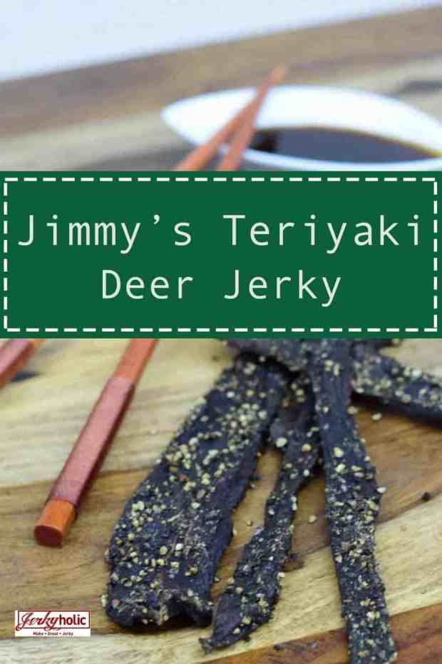Jimmy\'s Teriyaki Deer Jerky had a nice strong Teriyaki flavor. The pieces with pepper also had that great flavor with the extra little kick of the fresh cracked black pepper | Jerkyholic.com