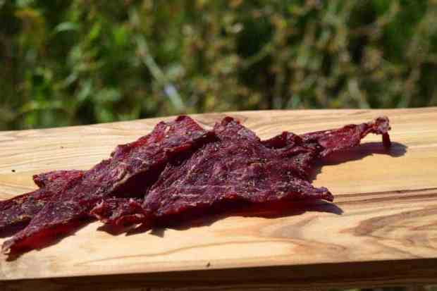 Garden Beef Jerky Finished