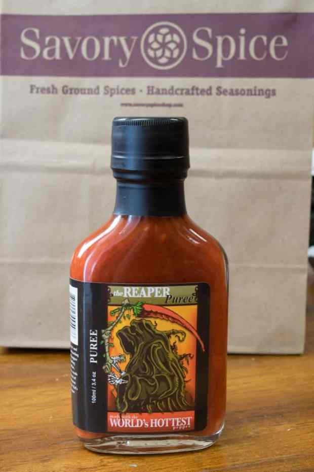 Carolina Reaper Pepper Puree
