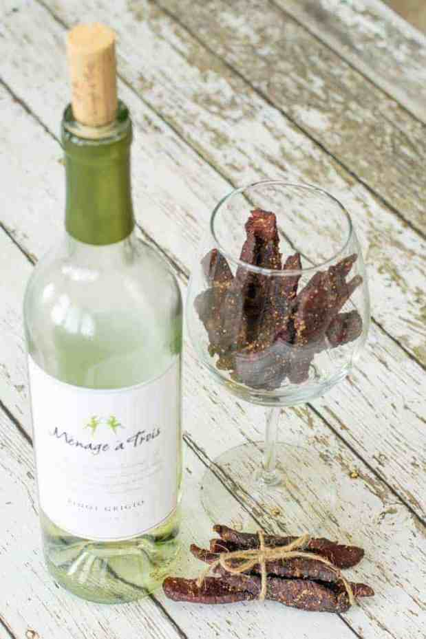 Vineyard Mash Beef Jerky