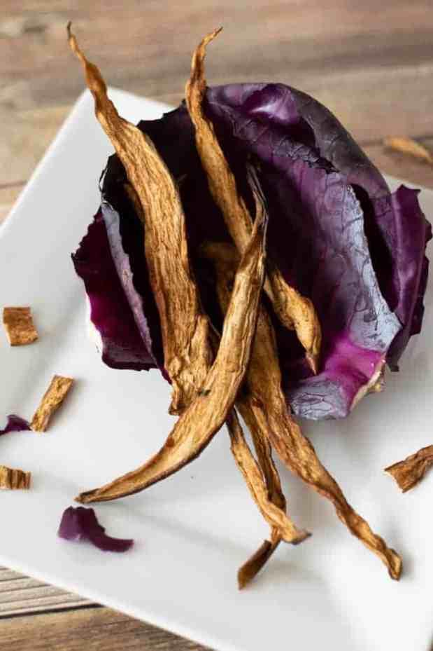 Summer-y Eggplant Jerky