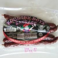 Review:  Kountry Boys Sausage (B+)