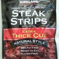 Review:  Kirkland Premium Beef Steak Strips (C+)