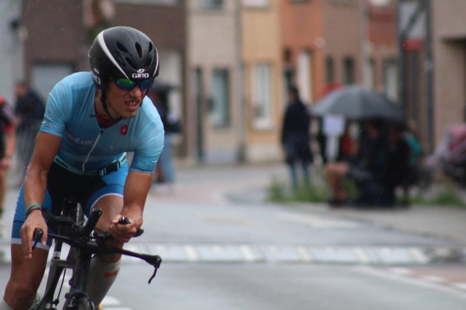 BK halve triatlon Menen - fietsen
