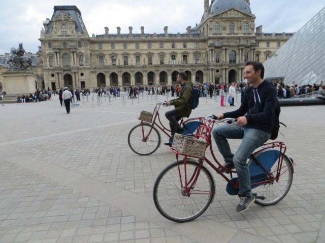 fietsen louvre