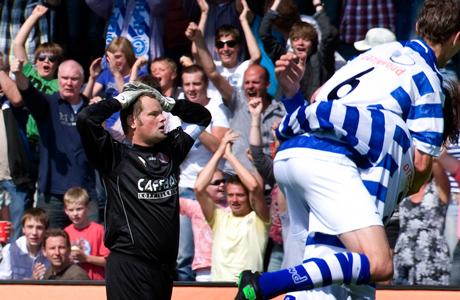 jeroen verhoeven met Volendam degradeert na 2-2 tegen De Graafschap2