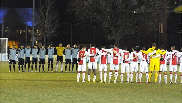 Jong Ajax - Jong Hemond Sport 1-2 jeroen verhoeven