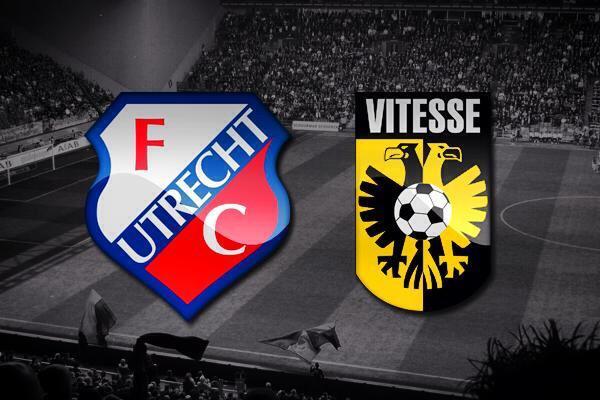 FC Utrecht - Vitesse jeroen verhoeven
