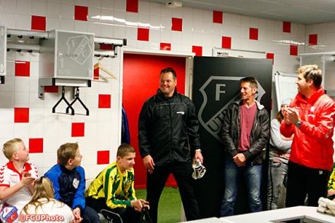 Clinic Jeroen Verhoeven FC Utrecht