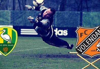 OEFENWEDSTRIJD : Morgen om 12:30 uur ADO Den Haag – FC Volendam