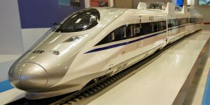Chinese high speed train