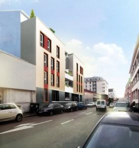 39 logements Rouen - étude