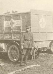Jerome K Jerome in France as an ambulance driver