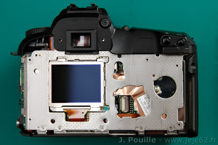 Conversion EOS D60 pour photo infrarouge