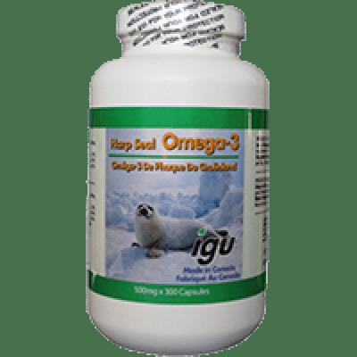 IGU Harp Seal Oil Omega-3   Jerry Business Canada Inc.