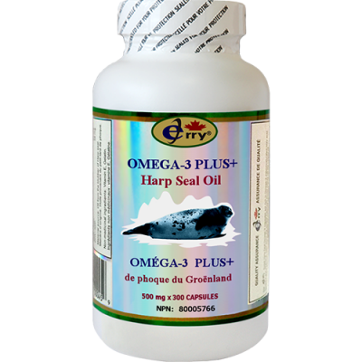 Jerry Harp Seal Oil Omega-3 Plus   Jerry Business Canada Inc.