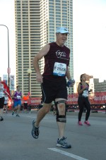 Running the 2013 Chicago Marathon after two years of weight loss (75 lbs) and training.