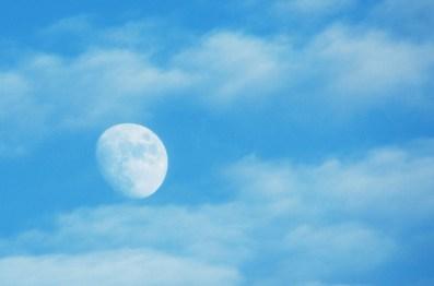 Daytime Moon January