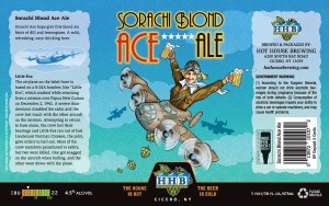 Sorachi Blond Ace Beer Label