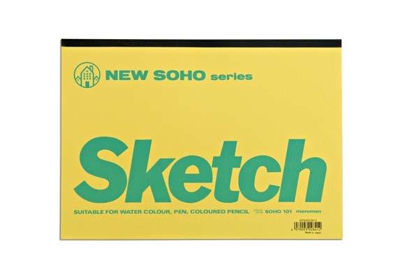 New Soho Sketch pad from Maruman