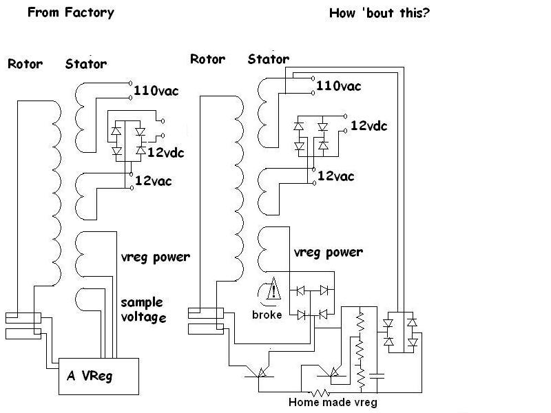 Ford escort voltage regulator problems