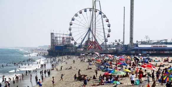 Image result for seaside heights boardwalk