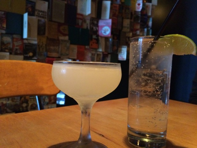 Gimlet and G&T