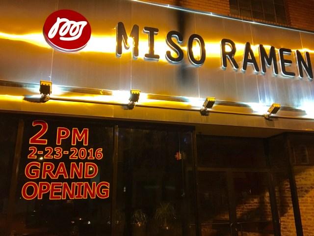 Miso Ramen Open
