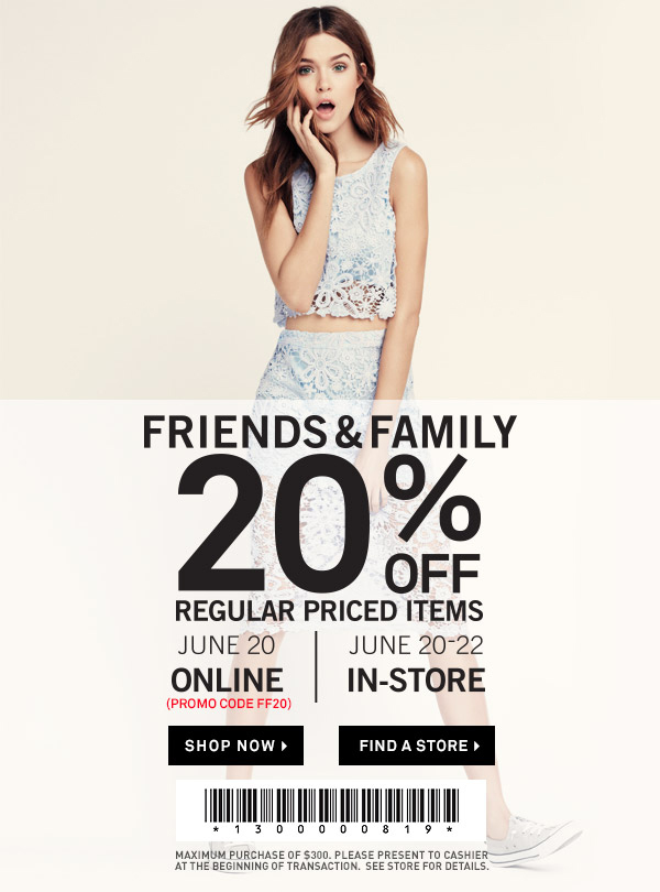 Forever 21 text coupons