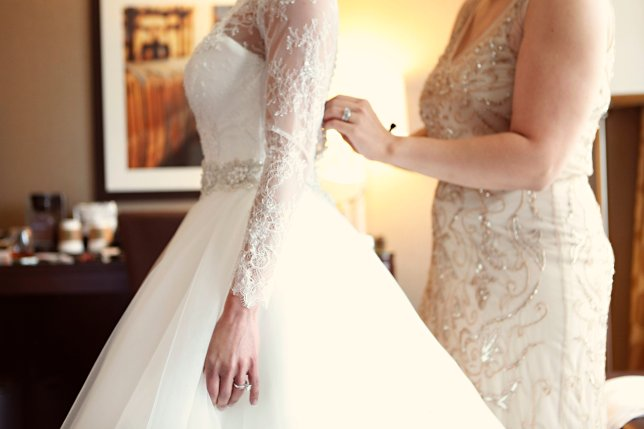 Long sleeve wedding gowns for brides