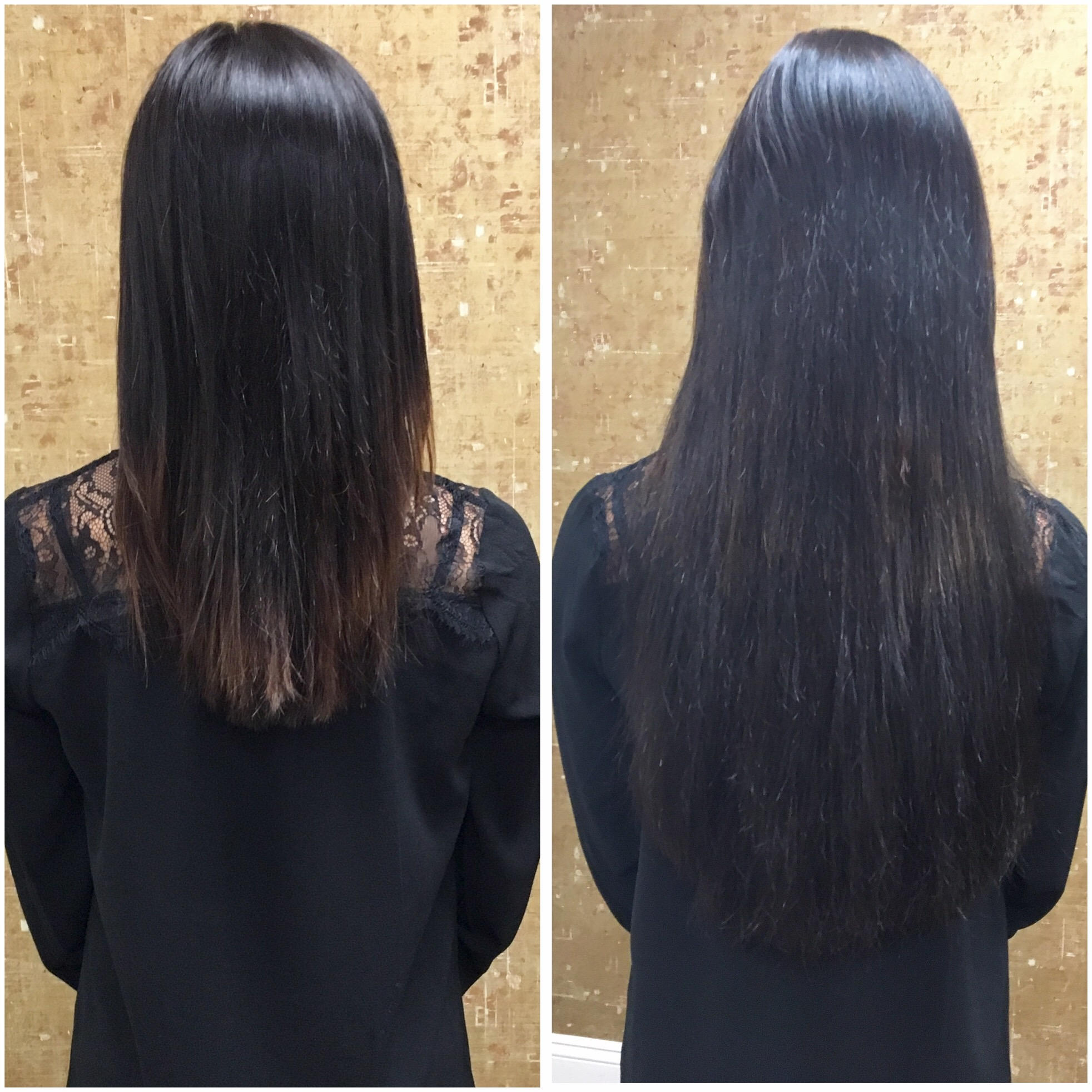 My experience with cold fusion hair extensions jersey girl talk before after cold fusion hair extensions by guci image solutioingenieria Images