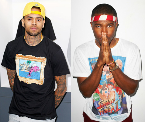 quality design dd901 5fbd3 CHRIS BROWN AND FRANK OCEAN: BEEF SQUASHED! — Jersey