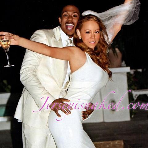 Wedding cannon carey mariah nick